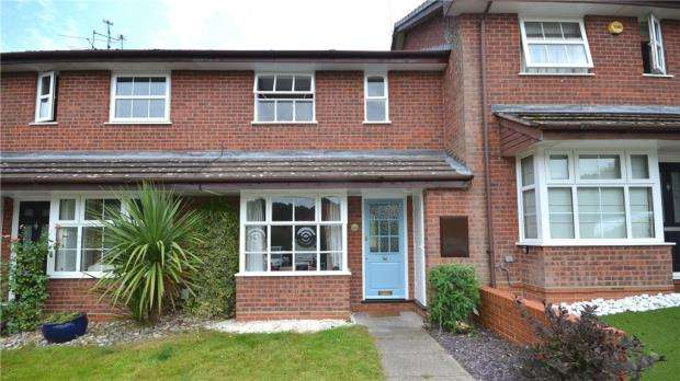 3 Bedrooms Terraced House for sale in Queensbury Place, Hawley, Camberley