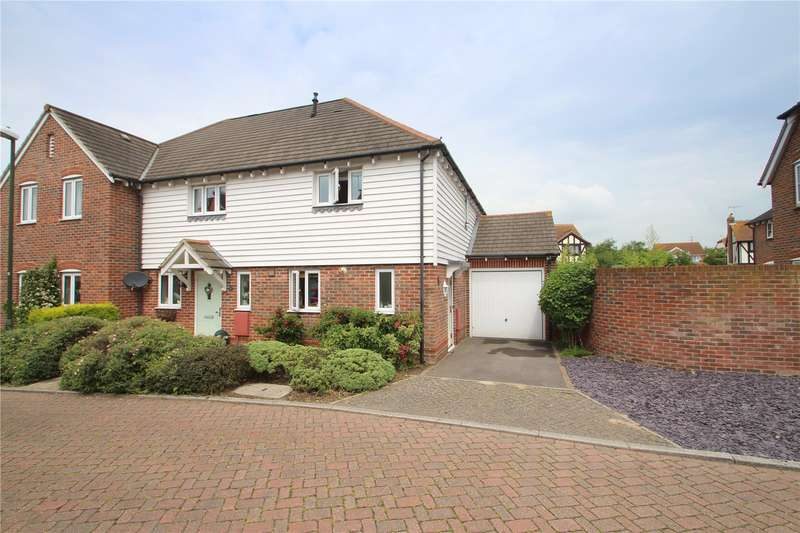 2 Bedrooms End Of Terrace House for sale in Street Barn, West Street, Sompting Village, BN15