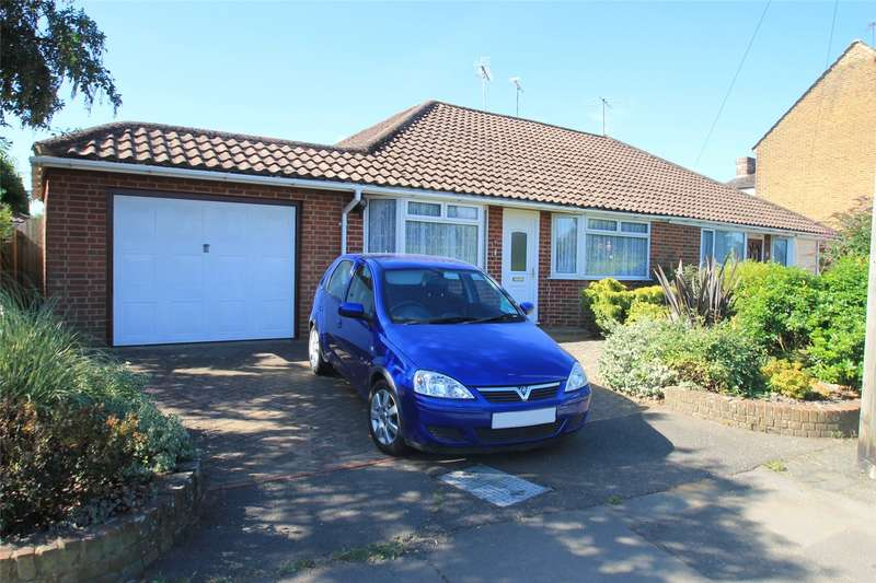 2 Bedrooms Semi Detached Bungalow for sale in Mill Lane, Littlehampton, West Sussex, BN17