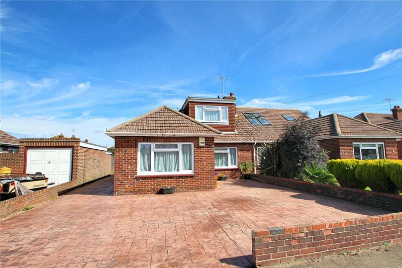 4 Bedrooms Semi Detached House for sale in Heathfield Close, Tarring, West Sussex, BN13