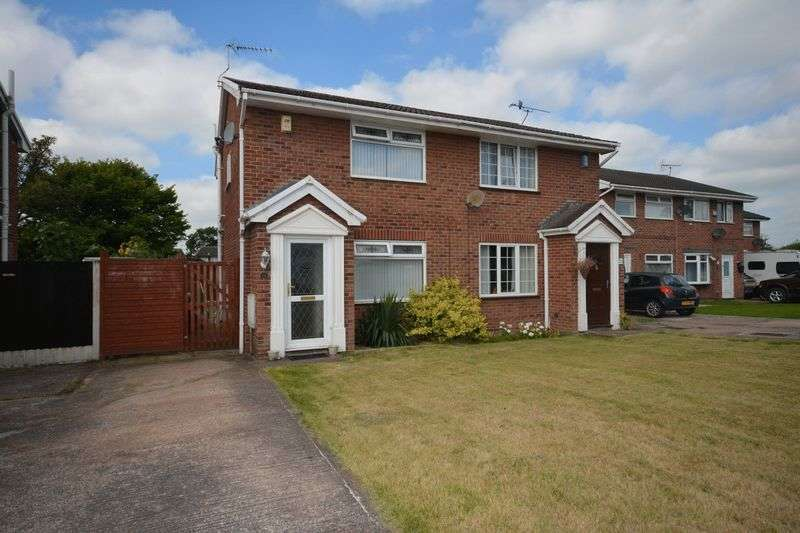 2 Bedrooms Semi Detached House for sale in Parkstone Drive, Crewe