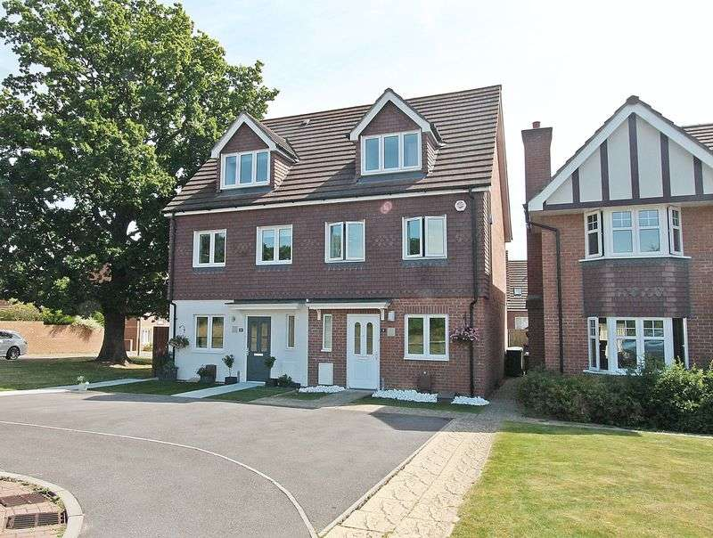 3 Bedrooms Semi Detached House for sale in Verne Close, Whiteley
