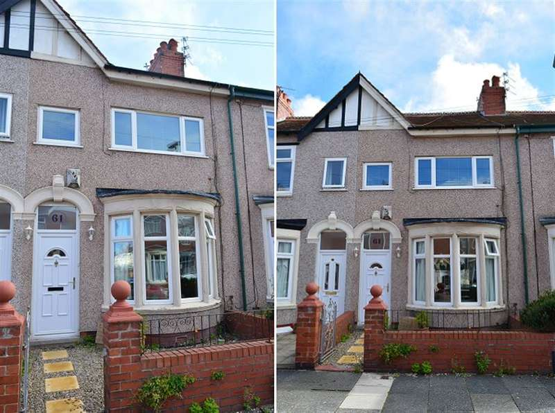 3 Bedrooms Terraced House for sale in Orchard Avenue, Blackpool, FY4 2NY