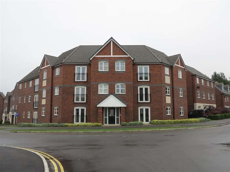 2 Bedrooms Apartment Flat for sale in Girton Way, Derby