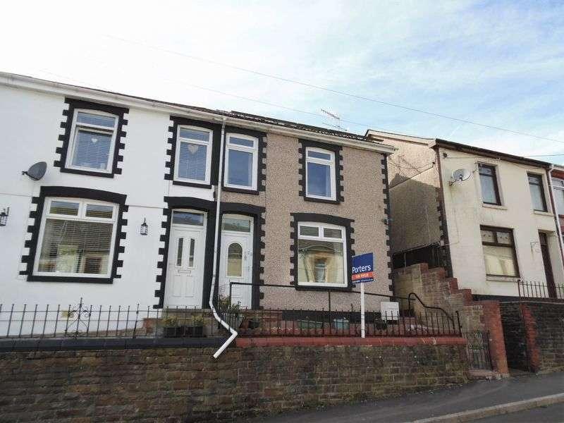 3 Bedrooms Semi Detached House for sale in Adare Street Ogmore Vale Bridgend CF32 7HF