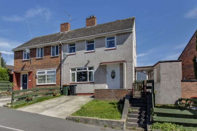 3 Bedrooms Semi Detached House for sale in Parry Drive, Newport