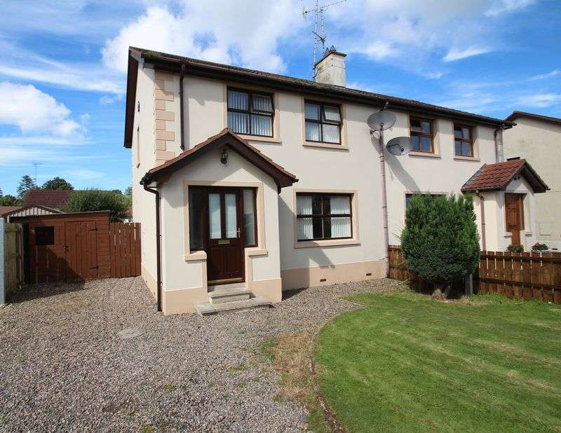 3 Bedrooms Semi Detached House for sale in 39 Castle Rise, Tandragee