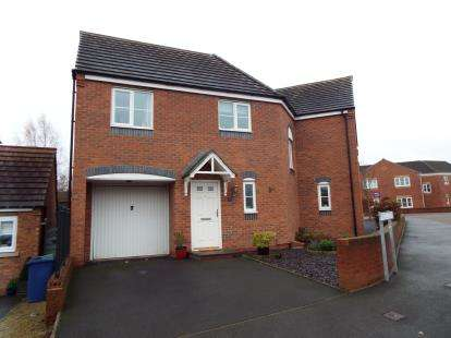4 Bedrooms Semi Detached House for sale in Purcell Close, Heath Hayes, Cannock, Staffordshire