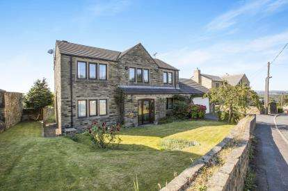 4 Bedrooms Detached House for sale in Church Lane, Elland, West Yorkshire, Halifax