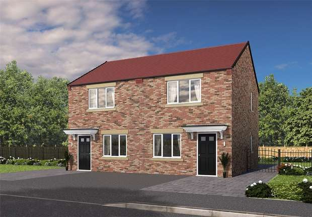 2 Bedrooms Semi Detached House for sale in **HELP TO BUY**INCENTIVES AVAILABLE**, Eden Field, Woodham Way, Newton Aycliffe, Durham
