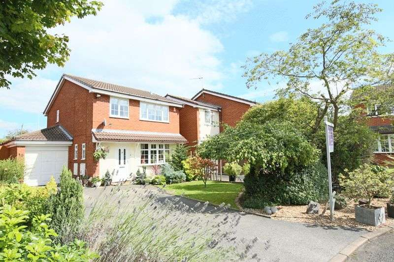 3 Bedrooms Detached House for sale in Stanier Close, Crewe Green