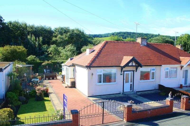 2 Bedrooms Semi Detached Bungalow for sale in Moel View Road, Prestatyn
