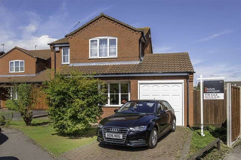 4 Bedrooms Detached House for sale in Squires Croft, Walsgrave, Coventry