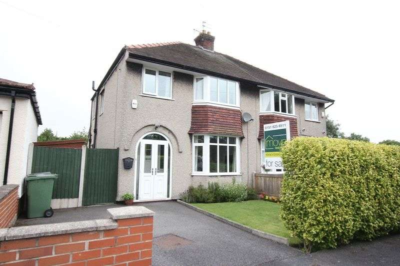 3 Bedrooms Semi Detached House for sale in Ferndale Avenue, Frankby, Wirral
