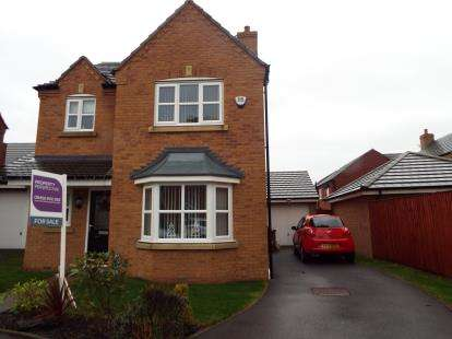 3 Bedrooms Detached House for sale in Harworth Road, St Helens, Merseyside, WA9