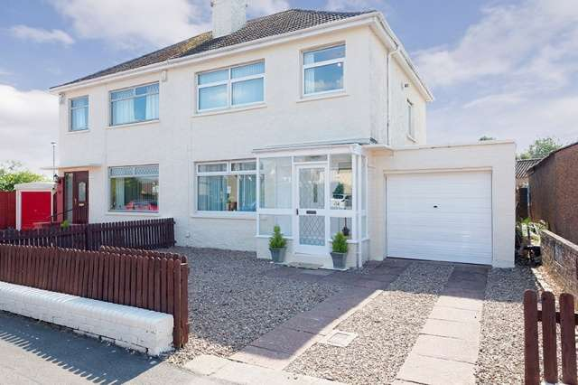 3 Bedrooms Semi Detached House for sale in Cockels Loan, Renfrew, Renfrewshire, PA4 0RG