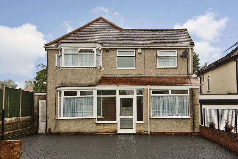4 Bedrooms Detached House for sale in Churchfield Road, Oxley, Wolverhampton