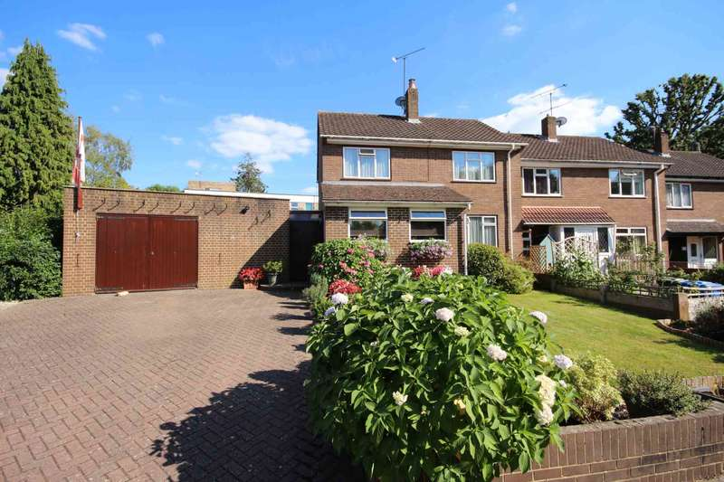3 Bedrooms End Of Terrace House for sale in Old Bracknell Close, Bracknell