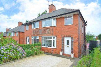 3 Bedrooms Semi Detached House for sale in Enfield Road, Chesterfield, Derbyshire