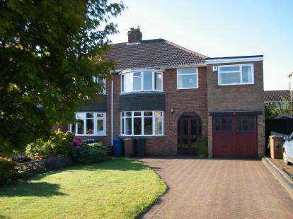 5 Bedrooms Semi Detached House for sale in Church Road, Burntwood, Staffordshire