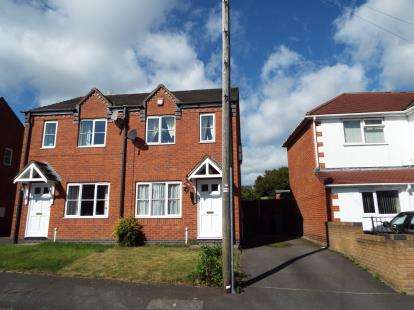 2 Bedrooms Semi Detached House for sale in Wrights Avenue, Cannock, Staffordshire