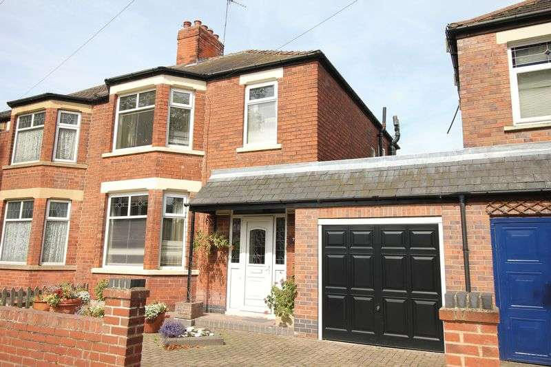 3 Bedrooms Semi Detached House for sale in Third Avenue, York