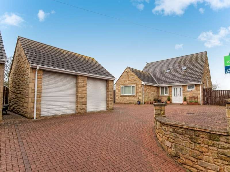 4 Bedrooms Detached House for sale in Stoney Croft The Wynd, Amble, MORPETH, NE65