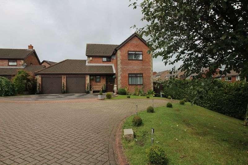 4 Bedrooms Detached House for sale in Manor Chase, Beddau, Pontypridd, CF38 2JD