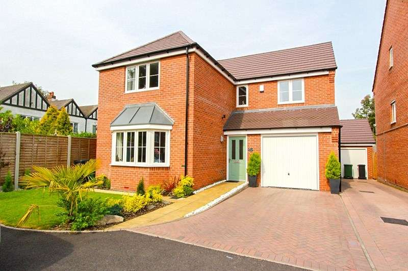 4 Bedrooms Detached House for sale in Harvest Grove, Bloxwich, Walsall