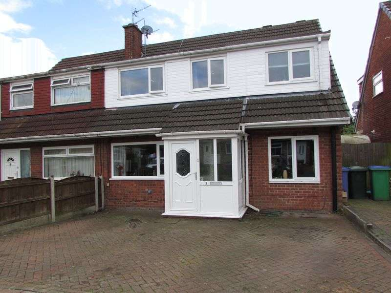 4 Bedrooms Semi Detached House for sale in Lune Grove, Heywood - Extended