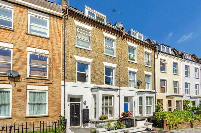 2 Bedrooms Maisonette Flat for sale in Tollington Way, Islington, N7