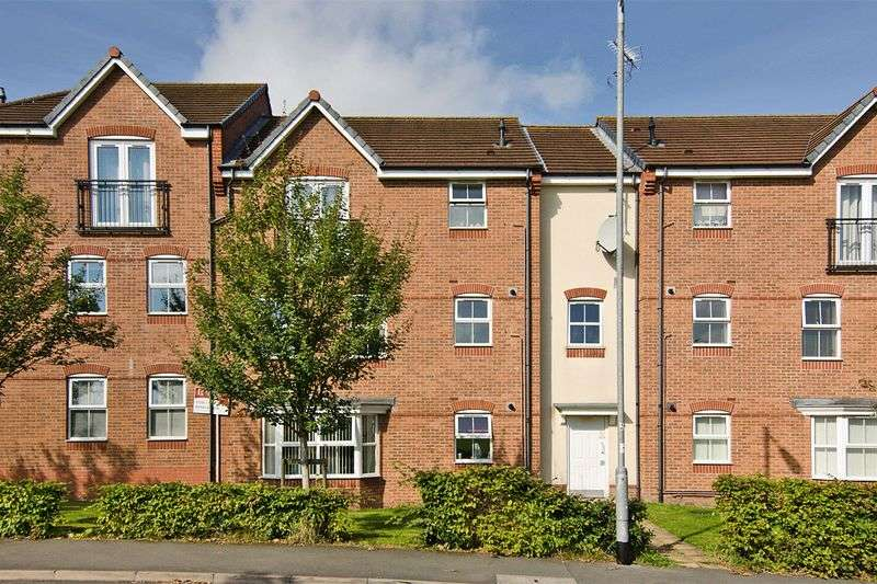 2 Bedrooms Flat for sale in Lupin Drive, Huntington, Cannock