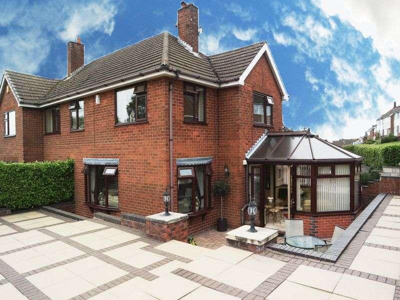 3 Bedrooms Semi Detached House for sale in Pemberton Drive, Meir Heath, Stoke on Trent, ST3 7JU