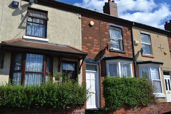 2 Bedrooms Terraced House for sale in Derby Street, Walsall, Walsall