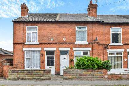2 Bedrooms Terraced House for sale in Stafford Street, Mansfield, Nottinghamshire