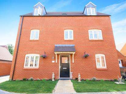 5 Bedrooms Detached House for sale in Poppyfields Way, Radstone Fields, Brackley, Northamptonshire