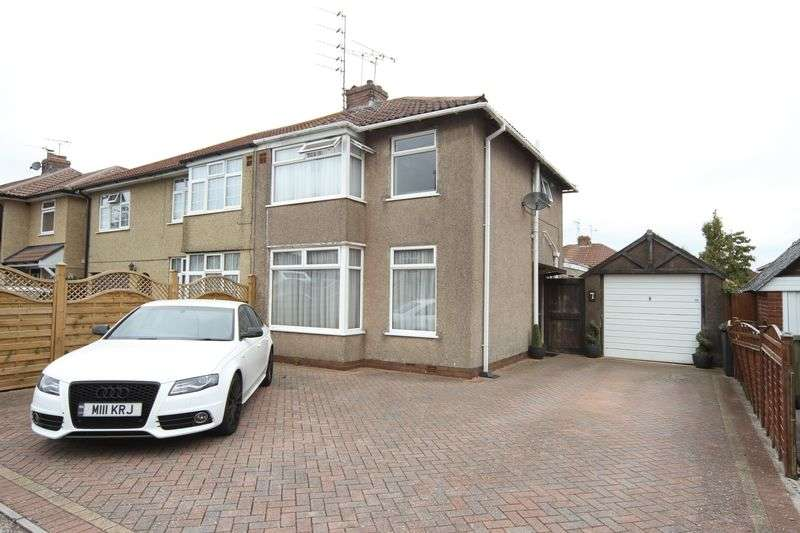 3 Bedrooms Semi Detached House for sale in Burley Avenue, Bristol