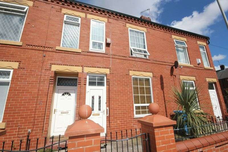 2 Bedrooms Terraced House for sale in Valentia Road, Blackley M9 6RN