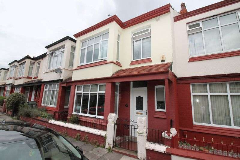 4 Bedrooms Terraced House for sale in Cressington Avenue, Tranmere