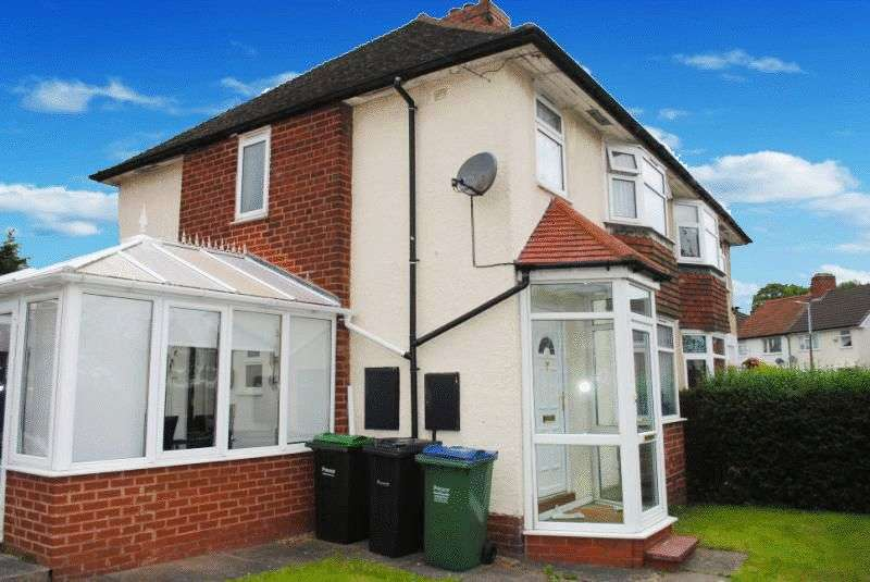 3 Bedrooms Semi Detached House for sale in Hurst Road, Smethwick
