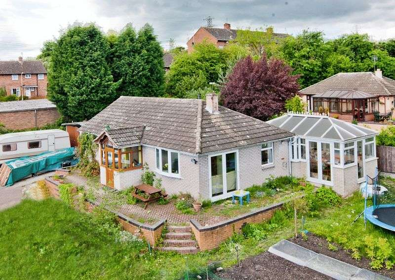 2 Bedrooms Detached Bungalow for sale in Bridgnorth Road, Broseley