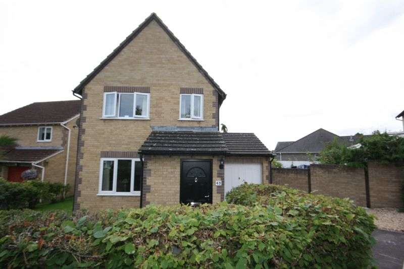 3 Bedrooms Detached House for sale in Russet Way, Peasdown