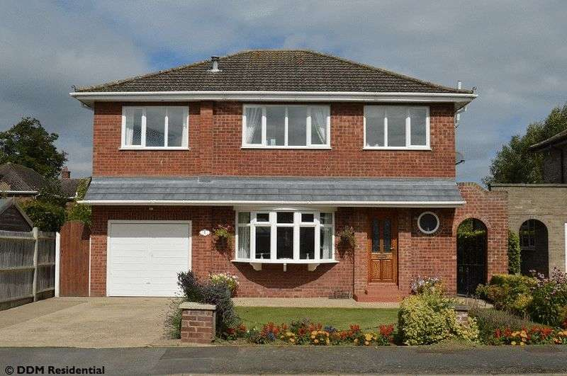 4 Bedrooms Detached House for sale in Beechwood Drive, Scawby, Brigg