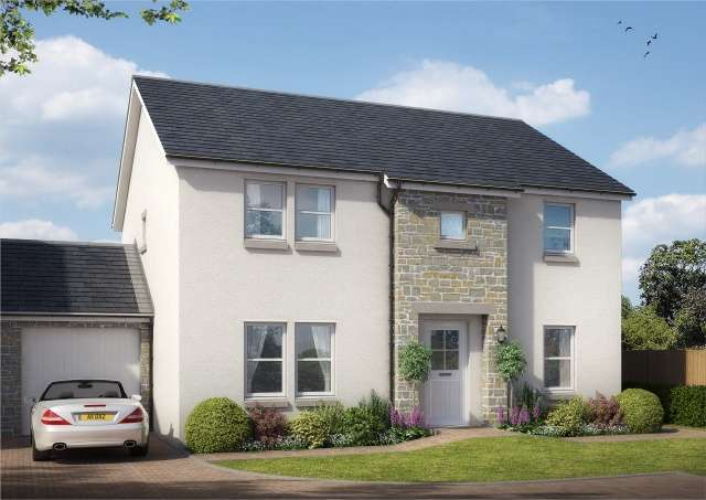 4 Bedrooms Detached Villa House for sale in Castlegait Development, Glamis, Angus, DD8 1RF