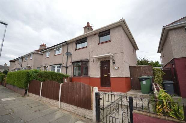 3 Bedrooms Semi Detached House for sale in Prentice Road, Rock Ferry, Merseyside