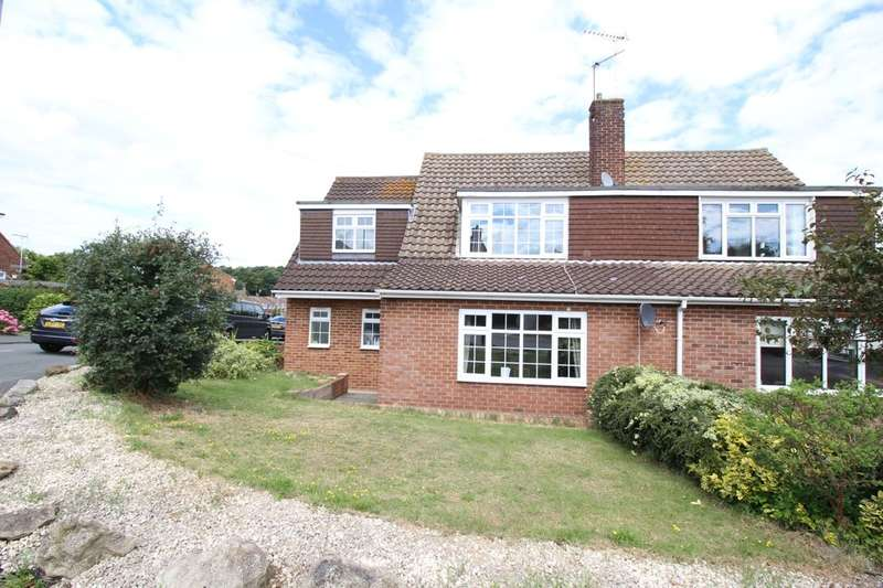 3 Bedrooms Semi Detached House for sale in Oak Drive, Higham, Rochester, ME3