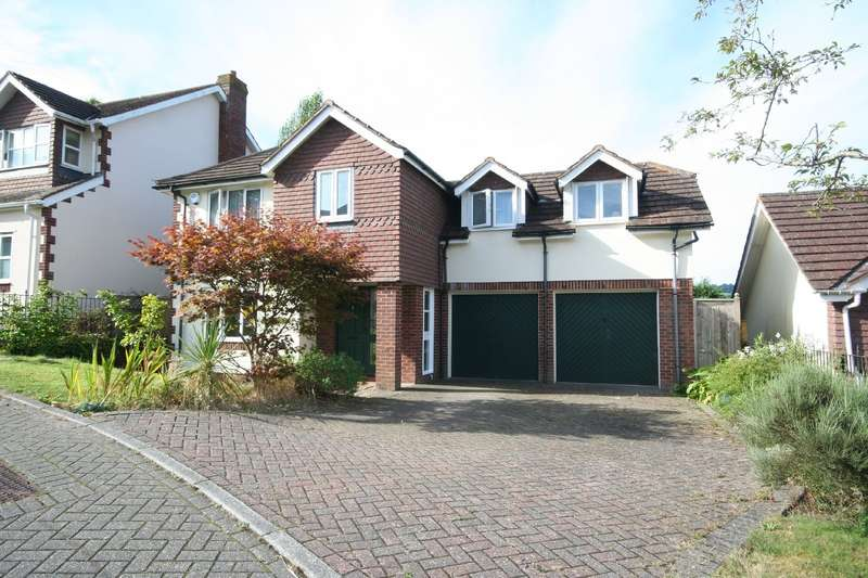4 Bedrooms Detached House for sale in 6 Southcote Orchard, Totnes