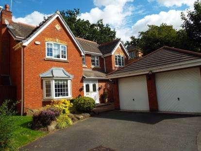 5 Bedrooms Detached House for sale in Smithford Walk, Tarbock Green, Prescot, Merseyside, L35