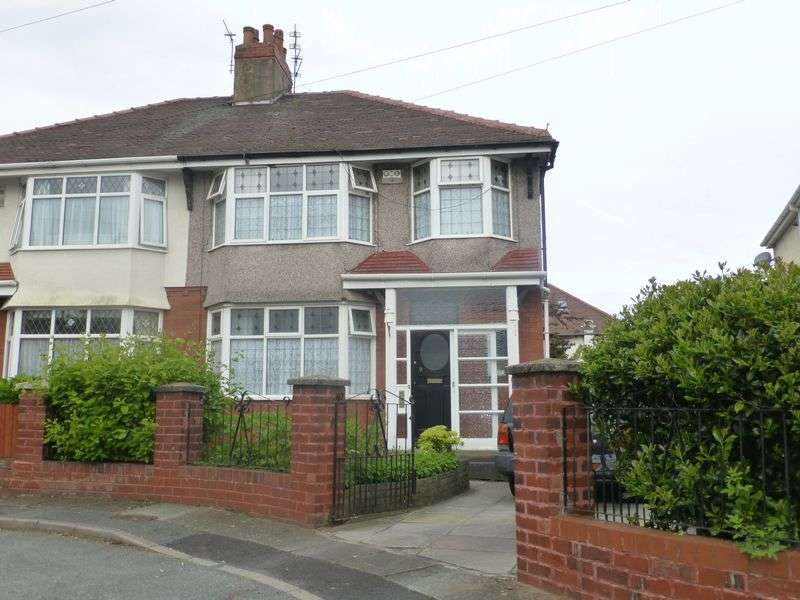 3 Bedrooms Semi Detached House for sale in Fernhill Avenue, Bootle