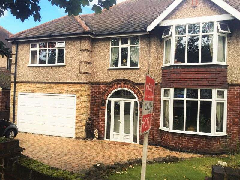 5 Bedrooms Semi Detached House for sale in Stainsby Drive, Mansfield